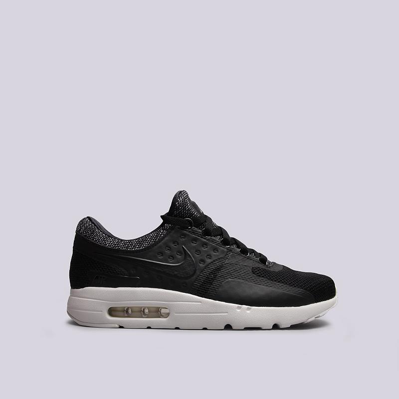 Кроссовки Nike Sportswear Air Max Zero BRКроссовки lifestyle<br>текстиль, пластик, резина<br><br>Цвет: Черный<br>Размеры US: 8;8.5;10;10.5;11.5<br>Пол: Мужской