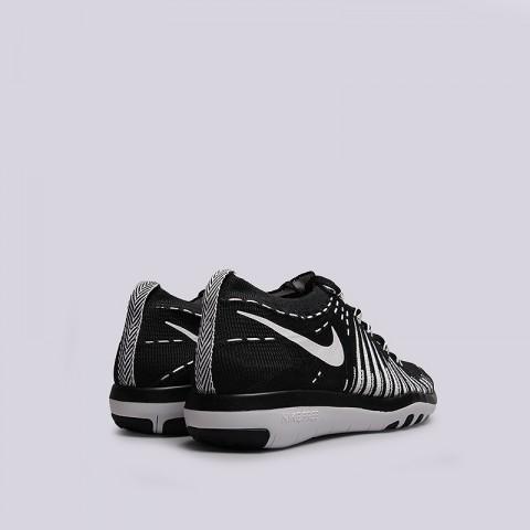 женские черные   кроссовки nike wmns free transform flyknit 833410-010 - цена, описание, фото 4