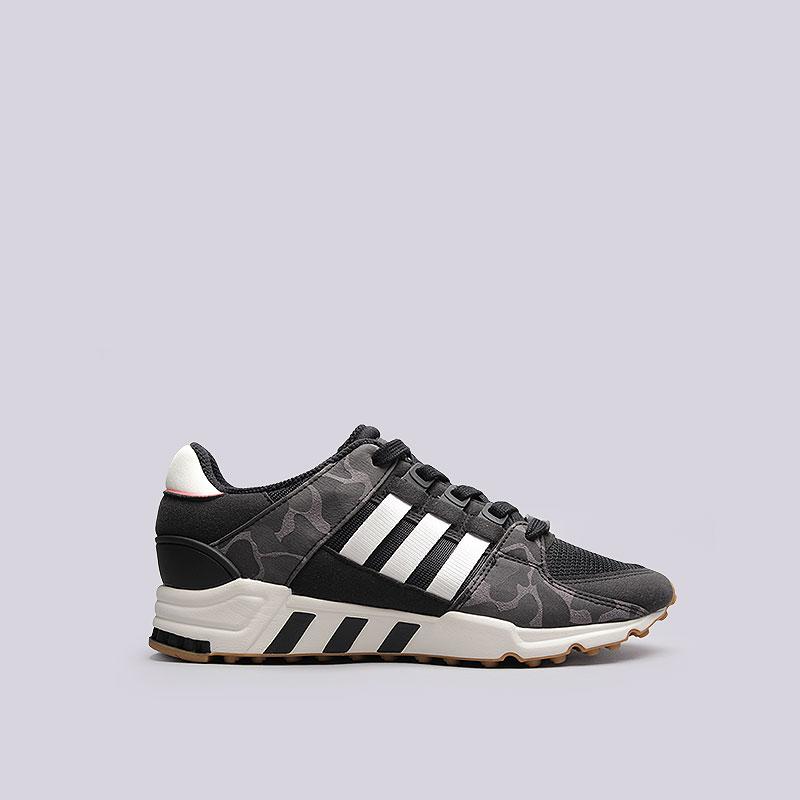 Кроссовки  adidas EQT Support RFКроссовки lifestyle<br>Текстиль, резина<br><br>Цвет: Черный, белый<br>Размеры UK: 7<br>Пол: Мужской