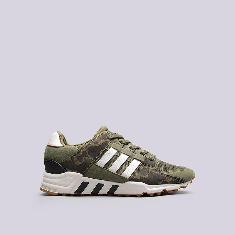 Кроссовки  adidas EQT Support RFКроссовки lifestyle<br>Текстиль, резина<br><br>Цвет: Зеленый<br>Размеры UK: 8<br>Пол: Мужской