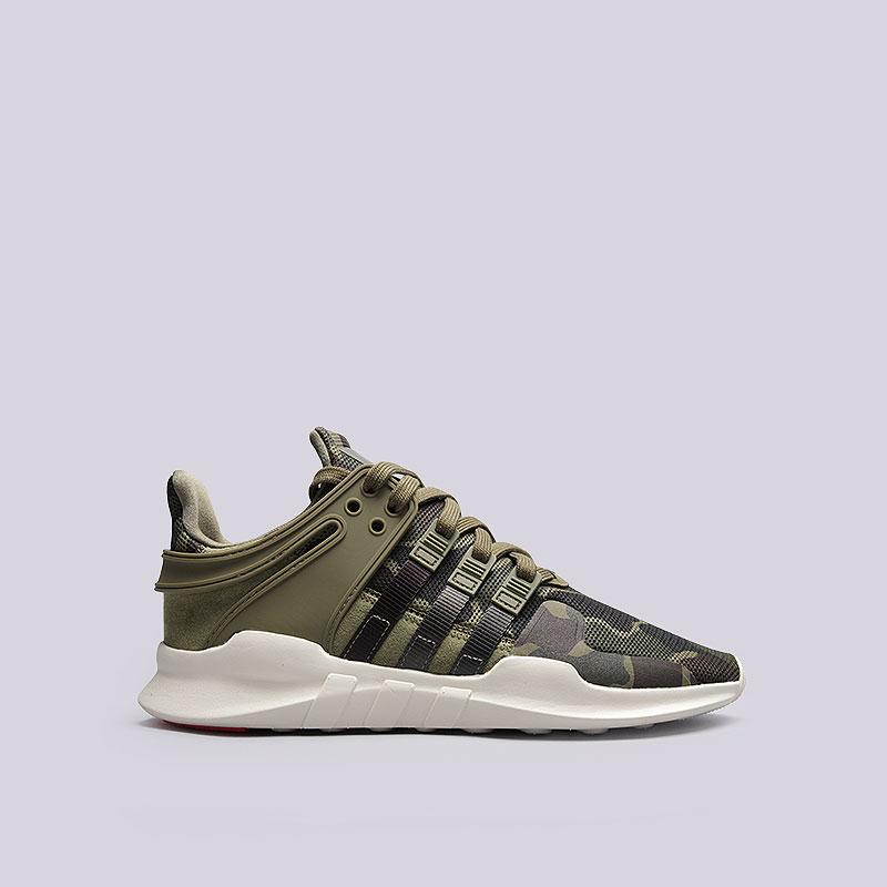 Кроссовки  adidas Originals EQT Support RFКроссовки lifestyle<br>Текстиль, резина, пластик<br><br>Цвет: Зеленый<br>Размеры UK: 7;8;8.5;10;10.5;11;11.5<br>Пол: Мужской