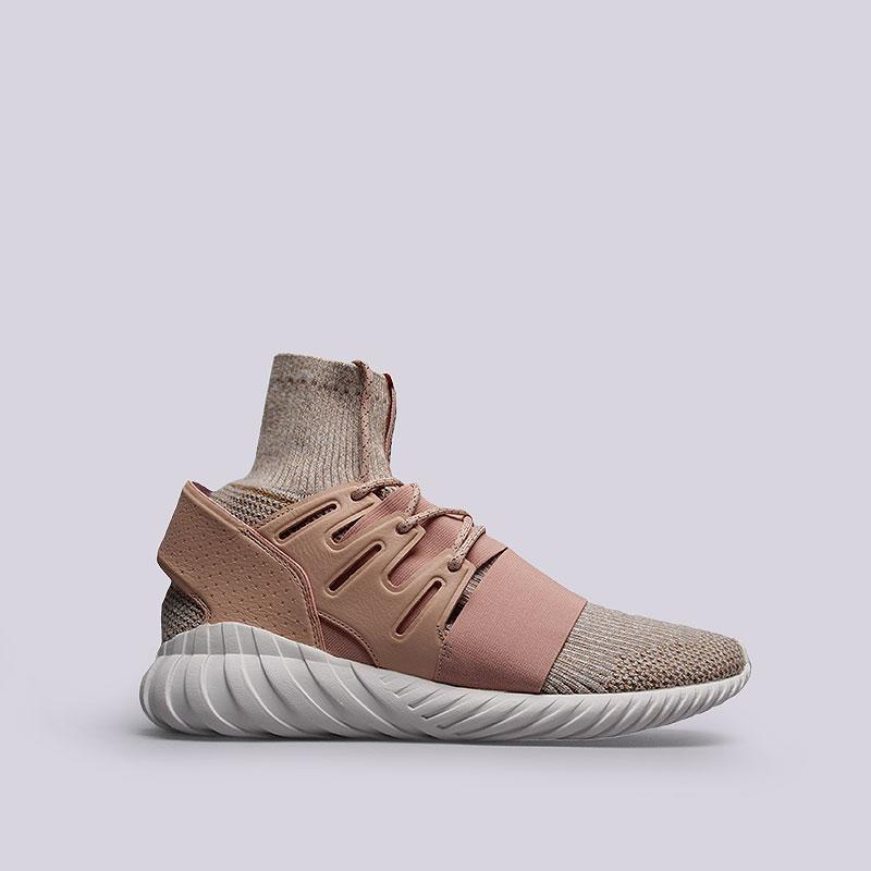 Кроссовки  adidas Originals Tubular Doom PKКроссовки lifestyle<br>Кожа, текстиль, резина<br><br>Цвет: Розовый, бежевый<br>Размеры UK: 11<br>Пол: Мужской