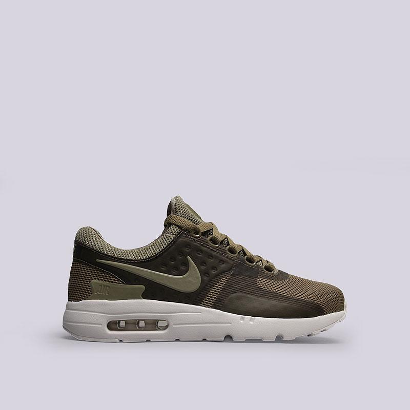 Кроссовки  Nike Sportswear Air Max Zero BRКроссовки lifestyle<br>Текстиль, резина<br><br>Цвет: Зеленый<br>Размеры US: 8;8.5;9;9.5;11;11.5;12;12.5<br>Пол: Мужской