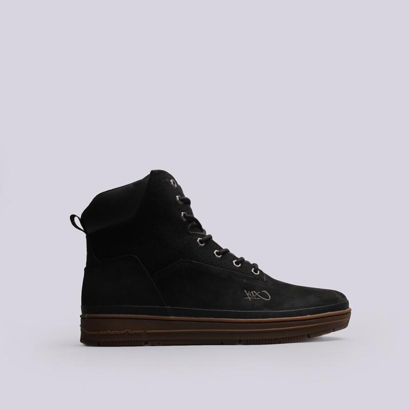 Ботинки K1X State SportБотинки<br>Кожа, текстиль, резина<br><br>Цвет: Черный<br>Размеры US: 9;10.5;11.5;12;12.5;13;15<br>Пол: Мужской