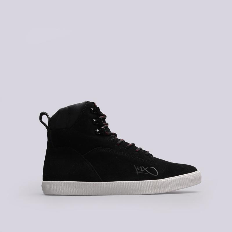 Ботинки K1X State LeБотинки<br>Кожа, текстиль, резина<br><br>Цвет: Черный<br>Размеры US: 10.5<br>Пол: Мужской