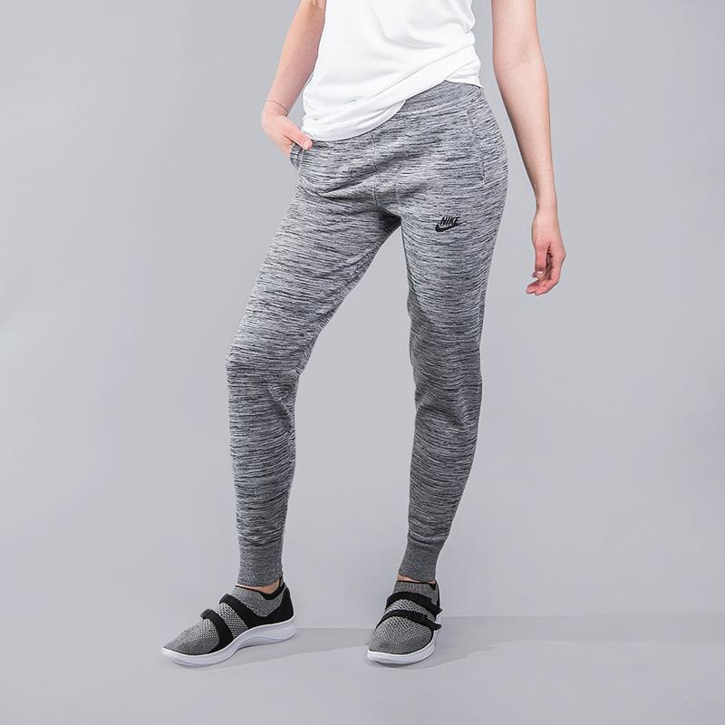 Брюки Nike Sportswear Tech KnitБрюки и джинсы<br>нейлон,хлопок, эластан<br><br>Цвет: Серый<br>Размеры US: XS;S;M;L<br>Пол: Женский