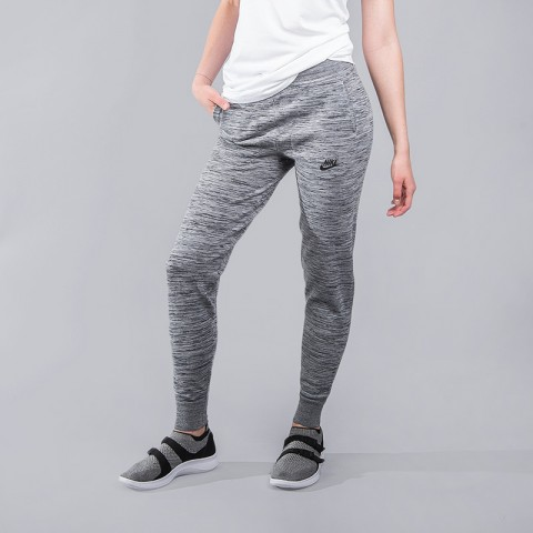 женские серые  брюки nike tech knit 831677-091 - цена, описание, фото 1