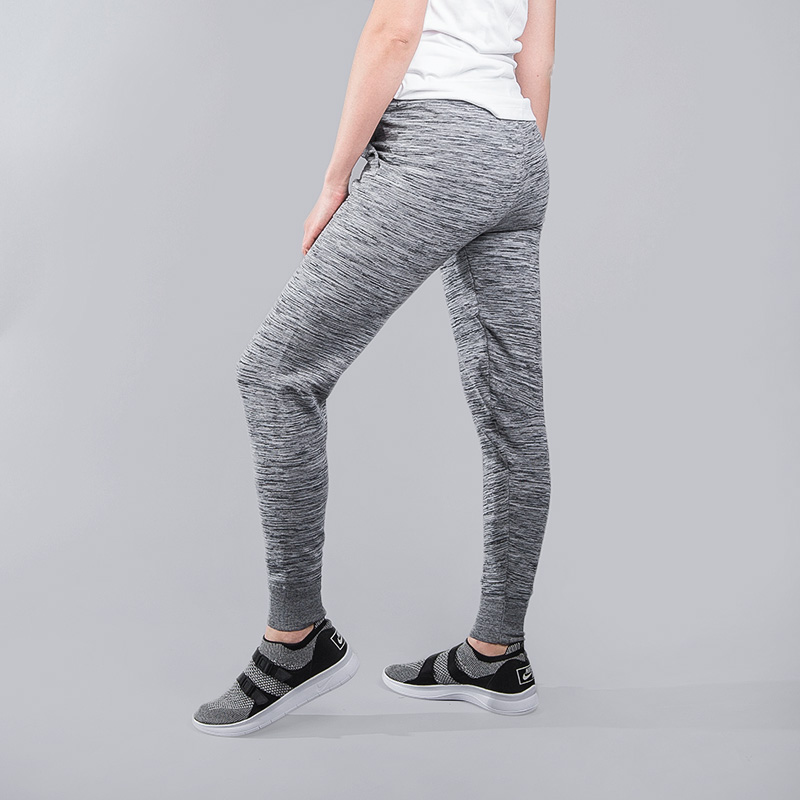 женские серые  брюки nike tech knit 831677-091 - цена, описание, фото 2