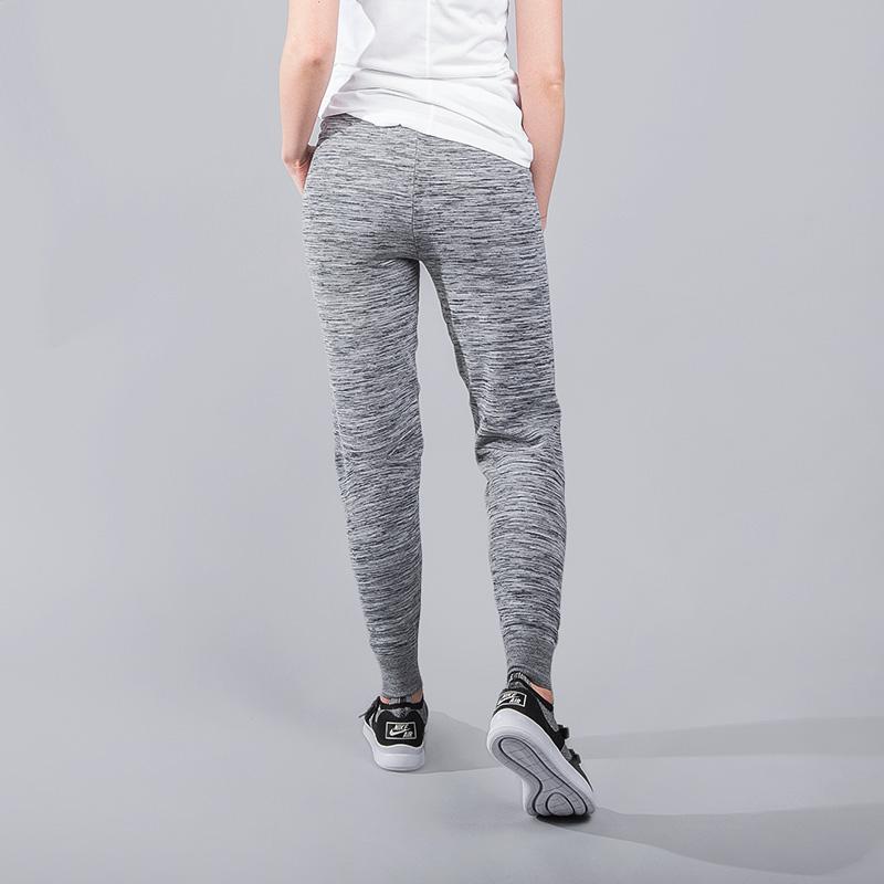 женские серые  брюки nike tech knit 831677-091 - цена, описание, фото 3