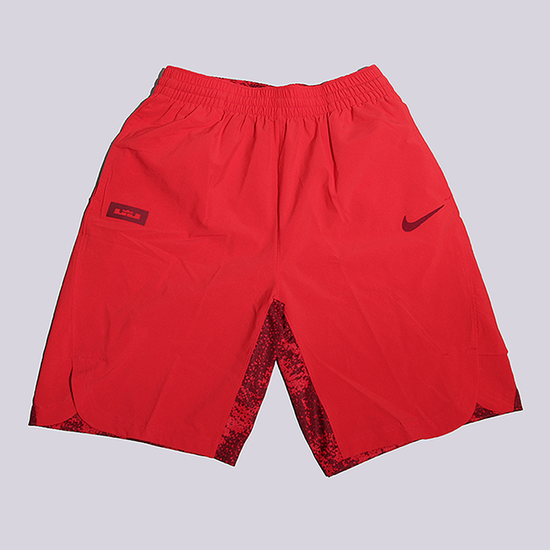 Шорты Nike Lebron Short HyperШорты<br>100% полиэстер<br><br>Цвет: Красный<br>Размеры US: XS<br>Пол: Детский
