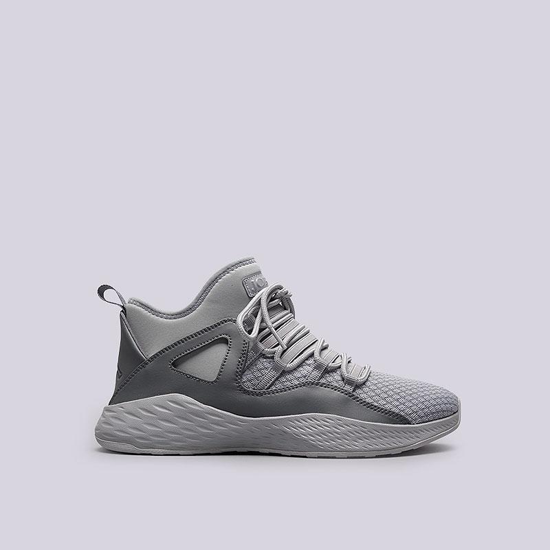 Кроссовки Jordan Formula 23Кроссовки lifestyle<br>Текстиль, резина, пластик<br><br>Цвет: Серый<br>Размеры US: 11.5<br>Пол: Мужской