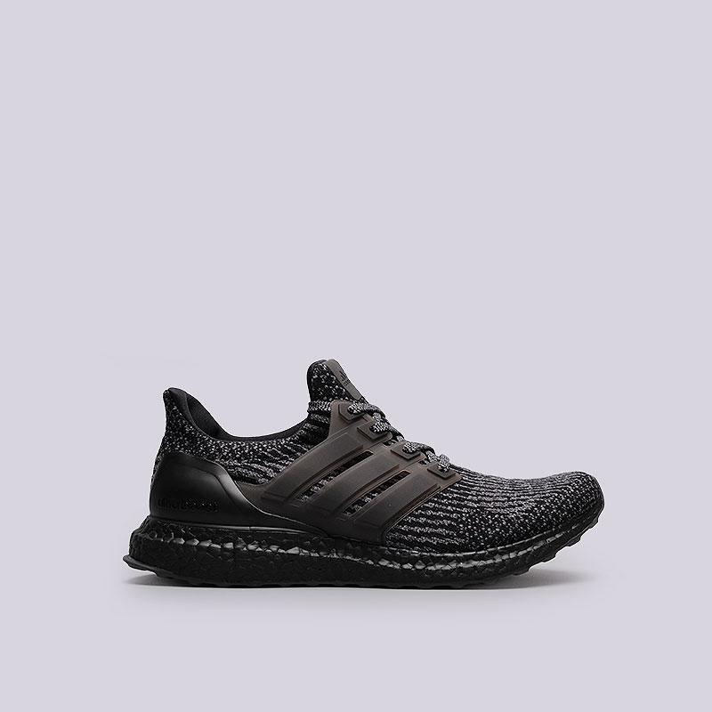 Кроссовки  adidas Originals Ultra Boost 3.0Кроссовки lifestyle<br>Текстиль, синтетика, резина<br><br>Цвет: Чёрный<br>Размеры UK: 8.5;9;9.5;10;10.5<br>Пол: Мужской
