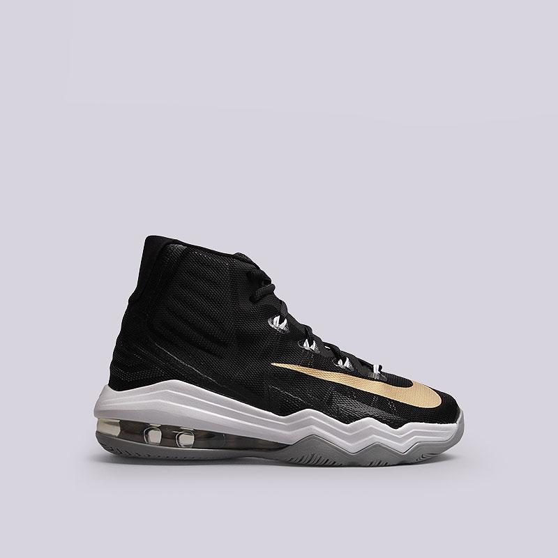 Кроссовки  Nike Air Max Audacity 2016Кроссовки баскетбольные<br>Текстиль, пластик, резина<br><br>Цвет: Чёрный, белый<br>Размеры US: 8<br>Пол: Мужской