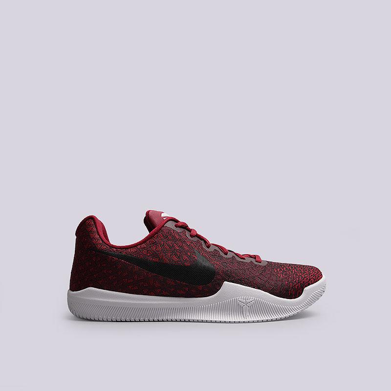 Кроссовки  Nike Mamba InstinctКроссовки баскетбольные<br>Текстиль, пластик, резина<br><br>Цвет: Красный<br>Размеры US: 8;8.5;9;9.5;10;10.5;11;12;12.5;13;14;15<br>Пол: Мужской