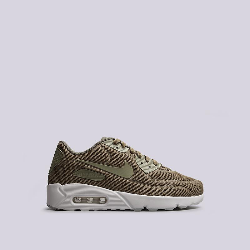 Кроссовки Nike Sportswear Air Max 90 Ultra 2.0 BRКроссовки lifestyle<br>текстиль, пластик, резина<br><br>Цвет: Зеленый<br>Размеры US: 8;9;10.5;11;11.5;12;12.5<br>Пол: Мужской
