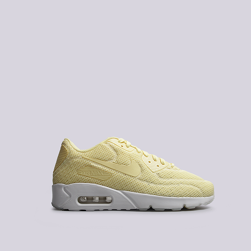 Кроссовки Nike Sportswear Air Max 90 Ultra 2.0 BRКроссовки lifestyle<br>текстиль, пластик, резина<br><br>Цвет: Желтый<br>Размеры US: 11.5<br>Пол: Мужской