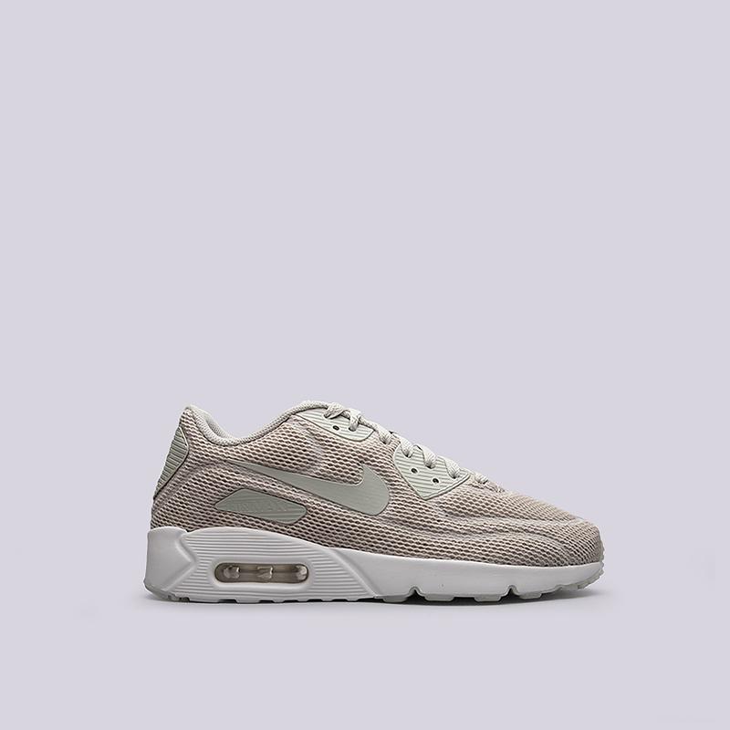 Кроссовки Nike Sportswear Air Max 90 Ultra 2.0 BRКроссовки lifestyle<br>текстиль, пластик, резина<br><br>Цвет: Бежевый<br>Размеры US: 8;9;9.5;10;10.5;11;11.5;12;12.5;15<br>Пол: Мужской