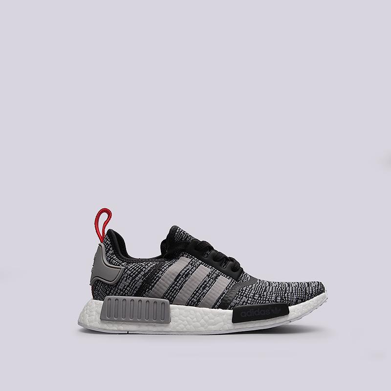 Кроссовки adidas Originals NMD R1Кроссовки lifestyle<br>текстиль, пластик, резина<br><br>Цвет: Серый<br>Размеры UK: 7;7.5;8;8.5;9;9.5;10;10.5;11;11.5;12;12.5;13;13.5<br>Пол: Мужской