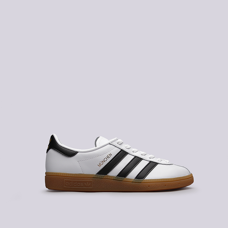 Кроссовки adidas Originals MunchenКроссовки lifestyle<br>кожа, текстиль, резина<br><br>Цвет: Белый<br>Размеры UK: 11.5<br>Пол: Мужской