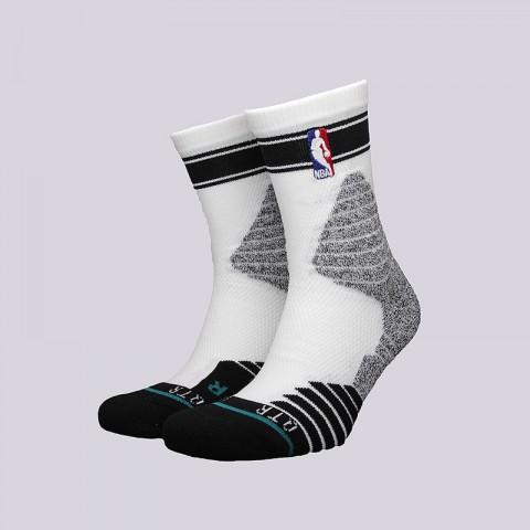 мужские белые  носки stance qtr bold stripe M359D6QTBS - цена, описание, фото 1
