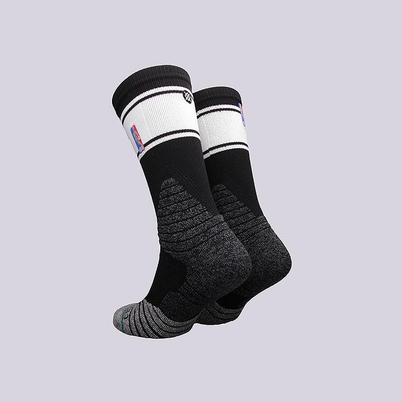 мужские чёрные  носки stance crew bold stripe M559D6CRBS-B - цена, описание, фото 2