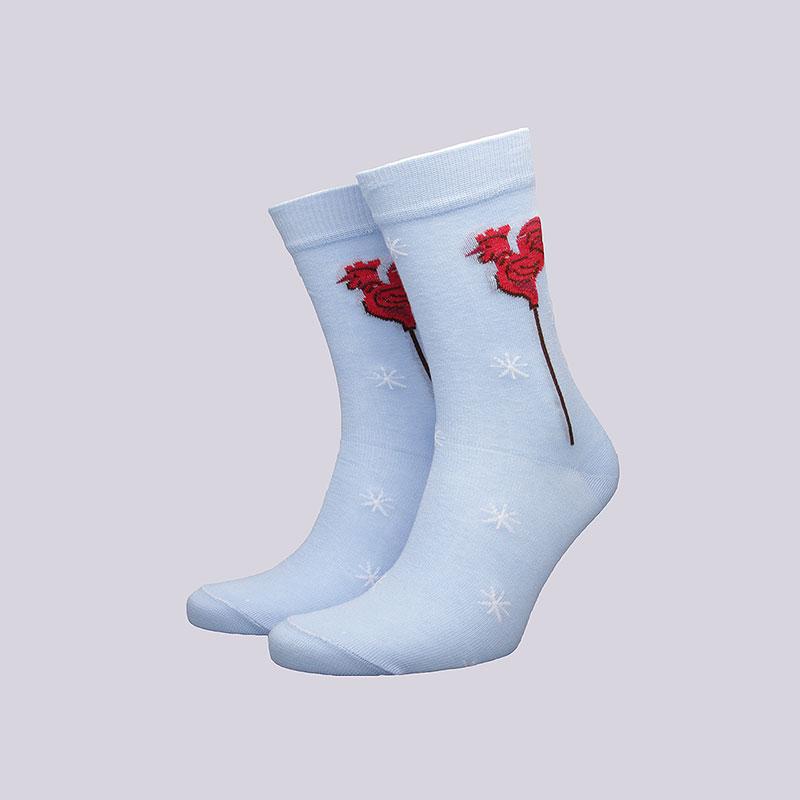 Носки Socksbox Blue RoosterНоски<br>Хлопок<br><br>Цвет: Голубой<br>Размеры : 36-39<br>Пол: Мужской