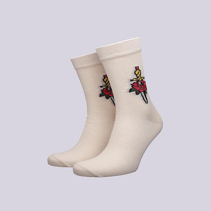 Носки Socksbox Beige Rose