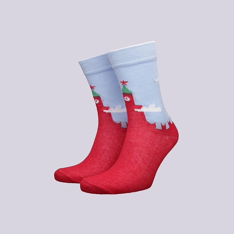 Носки Socksbox KremlinНоски<br>Хлопок<br><br>Цвет: Красный<br>Размеры : 36-39<br>Пол: Мужской