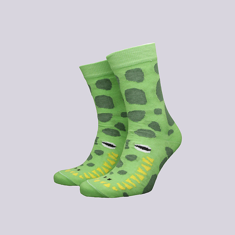 Носки Socksbox CrocodileНоски<br>Хлопок<br><br>Цвет: Зелёный<br>Размеры : 36-39<br>Пол: Мужской