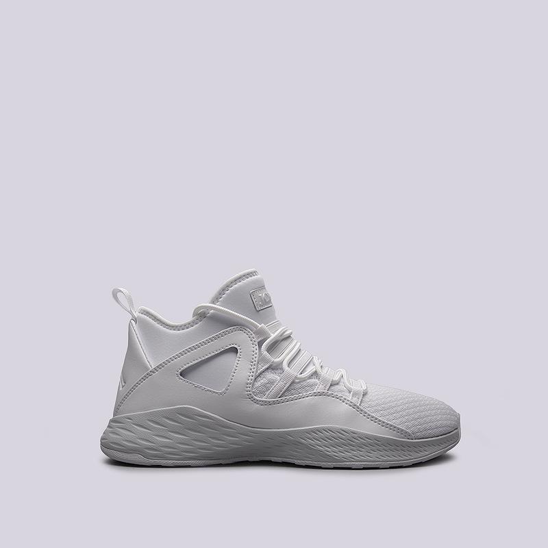 Кроссовки Jordan Formula 23Кроссовки баскетбольные<br>пластик, текстиль, резина<br><br>Цвет: Белый<br>Размеры US: 8;11;12;13;14<br>Пол: Мужской