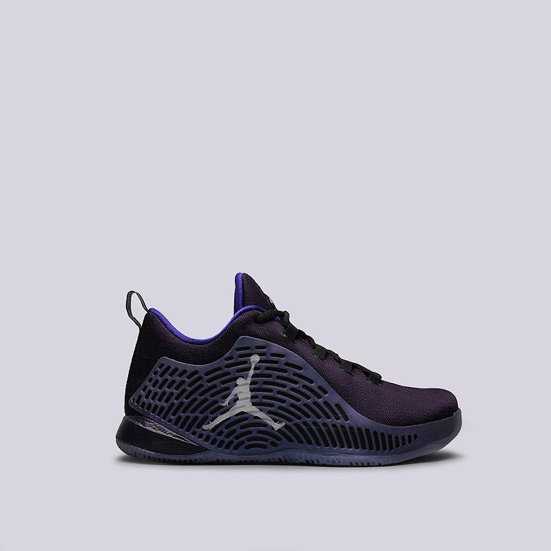 Кроссовки Jordan CP3.X BGКроссовки баскетбольные<br>текстиль, резина, пластик<br><br>Цвет: Фиолетовый<br>Размеры US: 5.5Y<br>Пол: Женский