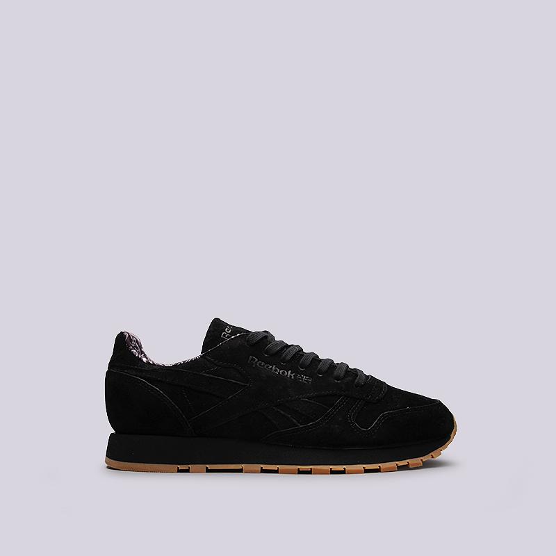 Кроссовки Reebok CL Leather TDCКроссовки lifestyle<br>кожа, текстиль, резина<br><br>Цвет: Черный<br>Размеры US: 8.5<br>Пол: Мужской