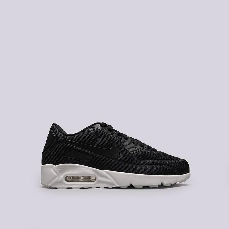 Кроссовки  Nike Sportswear Air Max 90 Ultra 2.0 BRКроссовки lifestyle<br>Текстиль, синтетика, резина<br><br>Цвет: Черный, белый<br>Размеры US: 9.5;10;10.5;11;11.5;12<br>Пол: Мужской