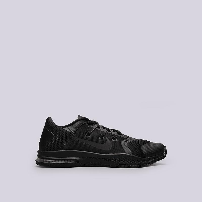Кроссовки  Nike Zoom Train CompleteКроссовки lifestyle<br>Текстиль, резина, пластик<br><br>Цвет: Черный<br>Размеры US: 8<br>Пол: Мужской