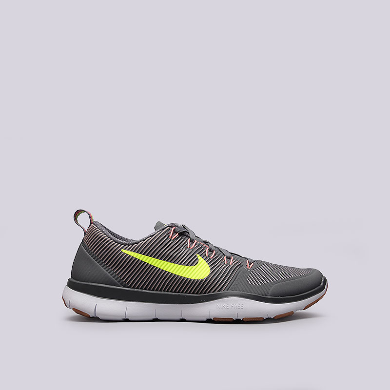Кроссовки  Nike Free Train VersatilityКроссовки lifestyle<br>Текстиль, резина, пластик<br><br>Цвет: Серый<br>Размеры US: 9.5;11<br>Пол: Мужской