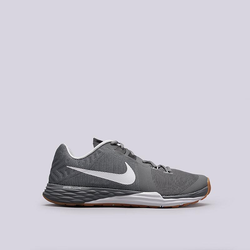 Кроссовки  Nike Train Prime Iron DFКроссовки lifestyle<br>Текстиль, резина<br><br>Цвет: Серый, белый<br>Размеры US: 8.5;9<br>Пол: Мужской