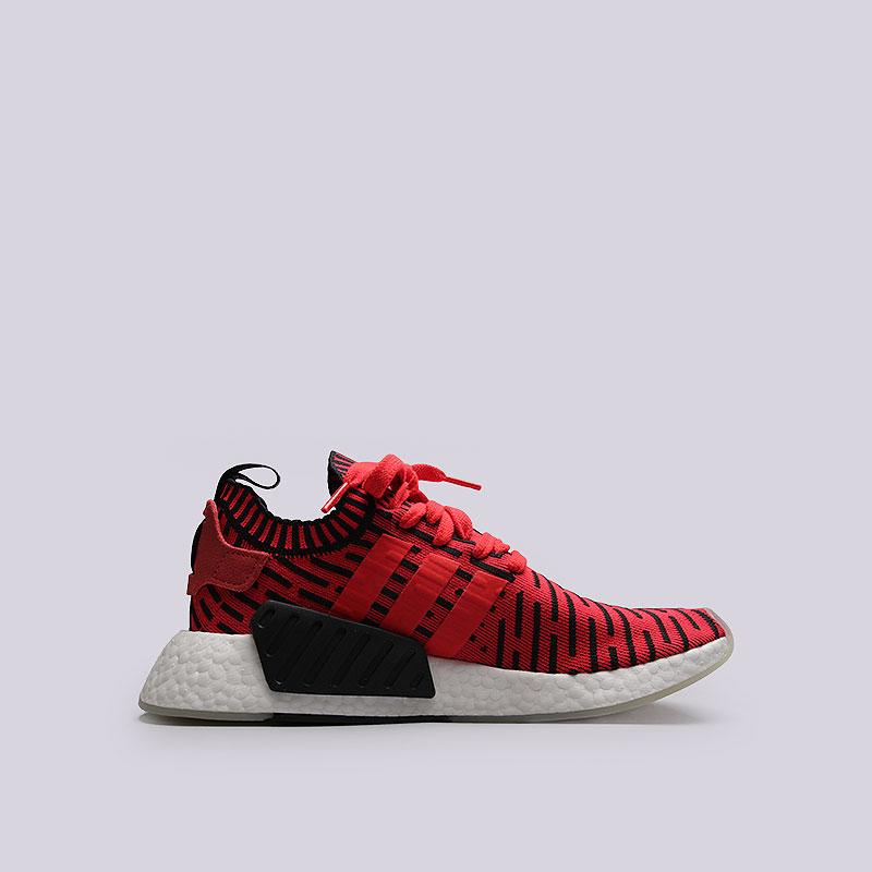 Кроссовки adidas Originals NMD_R2 PKКроссовки lifestyle<br>Текстиль, резина<br><br>Цвет: Красный<br>Размеры UK: 8;8.5;9;9.5;10.5;11;11.5<br>Пол: Мужской