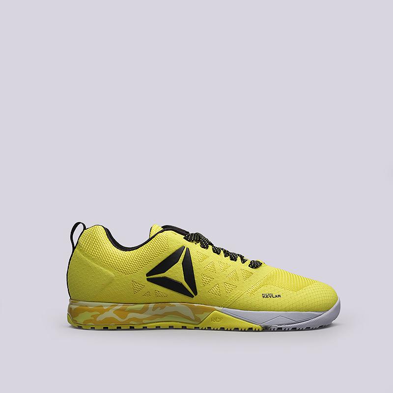 Кроссовки Reebok R Crossfit Nano 6.0Кроссовки lifestyle<br>Текстиль, синтетика, резина<br><br>Цвет: Желтый<br>Размеры US: 8.5;9;10;11<br>Пол: Мужской