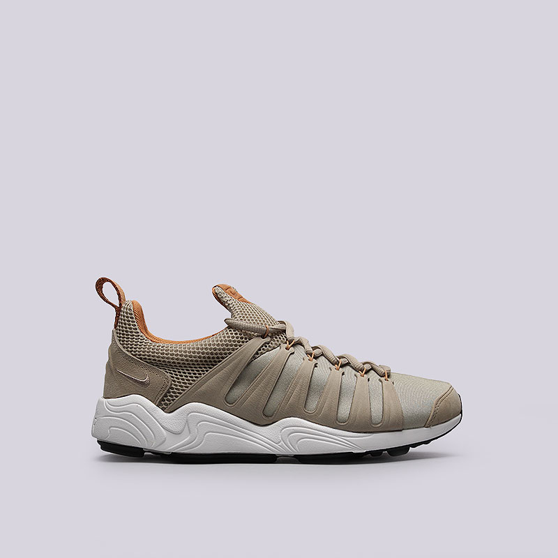 Кроссовки Nike Air Zoom SpirimicКроссовки lifestyle<br>Кожа, текстиль, резина<br><br>Цвет: Бежевый<br>Размеры US: 7.5;8;10.5;12<br>Пол: Мужской