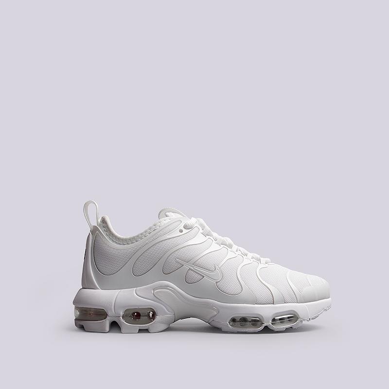 Кроссовки Nike Sportswear WMNS Air Max Plus TN UltraКроссовки lifestyle<br>Текстиль, резина, пластик<br><br>Цвет: Белый<br>Размеры US: 11.5<br>Пол: Женский