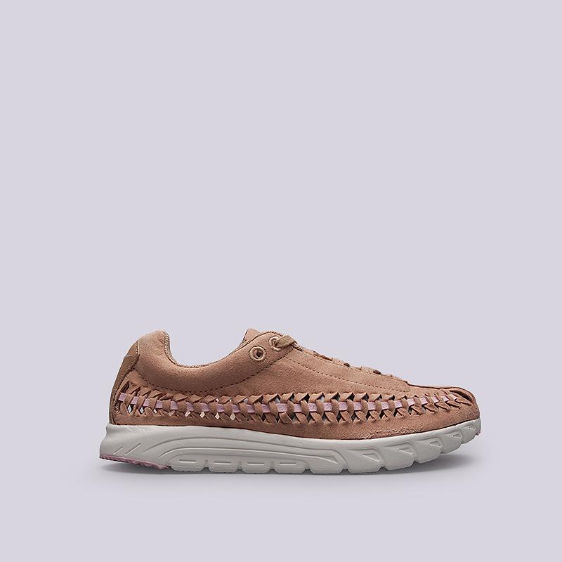Кроссовки Nike Sportswear WMNS Mayfly WovenКроссовки lifestyle<br>Кожа, текстиль, резина<br><br>Цвет: Бежевый<br>Размеры US: 6;6.5;7.5;8;8.5<br>Пол: Женский
