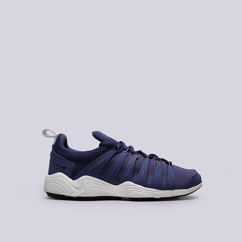 Кроссовки Nike Air Zoom SpirimicКроссовки lifestyle<br>Текстиль, кожа, резина, пластик<br><br>Цвет: Синий<br>Размеры US: 7.5;8;8.5;11.5<br>Пол: Мужской