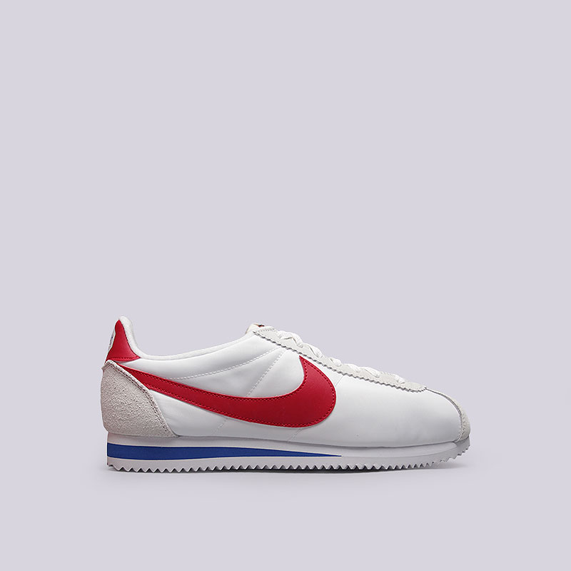 Кроссовки Nike Sportswear Classic Cortez Nylon Prem QSКроссовки lifestyle<br>Текстиль, кожа, резина<br><br>Цвет: Белый<br>Размеры US: 9;11<br>Пол: Мужской