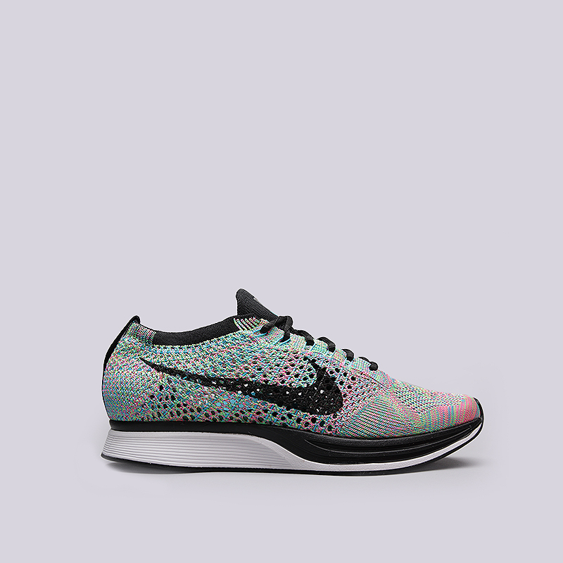 Кроссовки Nike Flyknit RacerКроссовки lifestyle<br>Текстиль, резина<br><br>Цвет: Мультиколор<br>Размеры US: 5.5;7;7.5