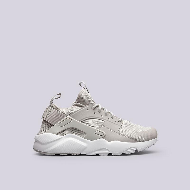 Кроссовки  Nike Air Huarache Run Ultra BRКроссовки lifestyle<br>Текстиль, пластик, резина<br><br>Цвет: Серый<br>Размеры US: 9<br>Пол: Мужской