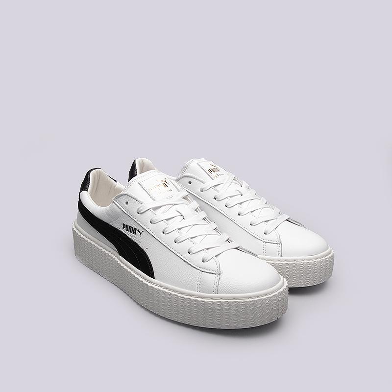 hot sale online e441e 2f6aa Мужские кроссовки Creeper White Leather от Puma (36464001) оригинал -  купить по цене 8390 руб. в ...