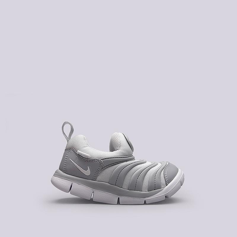 Кроссовки Nike Sportswear Dynamo Free (TD)Кроссовки lifestyle<br>Текстиль, резина<br><br>Цвет: Серый<br>Размеры US: 10C<br>Пол: Детский