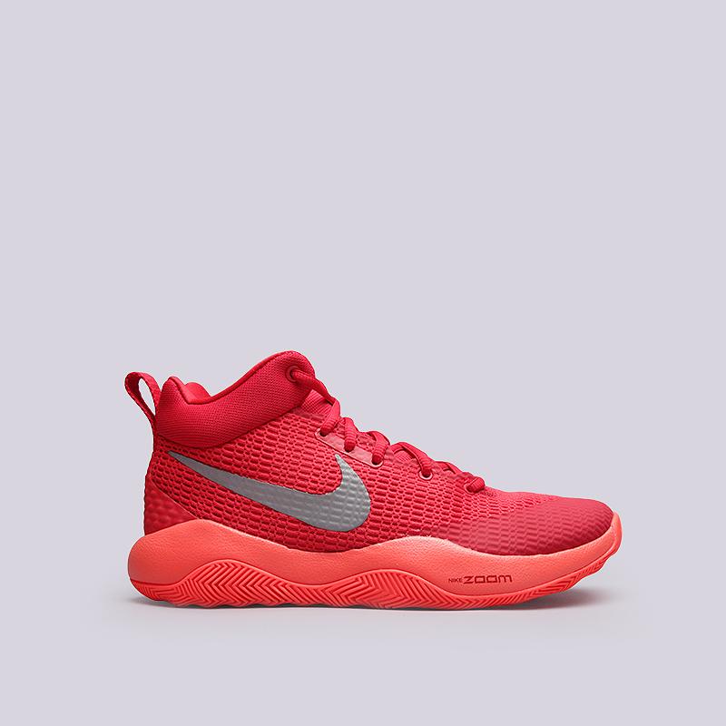 Кроссовки Nike Zoom RevКроссовки баскетбольные<br>Текстиль, резина<br><br>Цвет: Красный<br>Размеры US: 13.5<br>Пол: Мужской