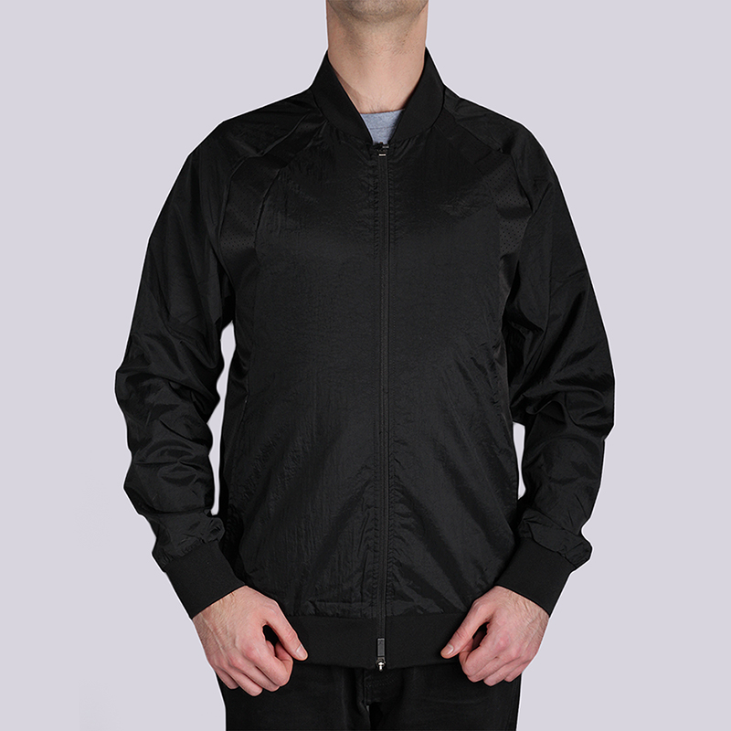 Куртка Jordan JSW Wings Muscle JKTКуртки, пуховики<br>100% нейлон<br><br>Цвет: Черный<br>Размеры US: S;M;L;XL;2XL<br>Пол: Мужской