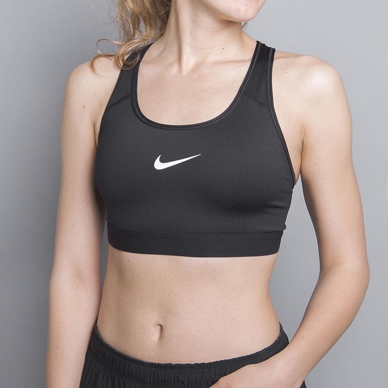 Топ Nike Pro Classic Sports BraБезрукавки<br>88% полиэстер, 12% эластан<br><br>Цвет: Черный<br>Размеры US: L;M;S<br>Пол: Женский